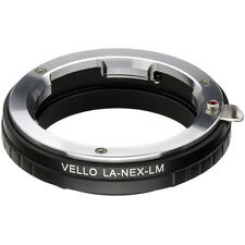 Vello Leica M Mount Lens to Sony NEX Camera Adapter