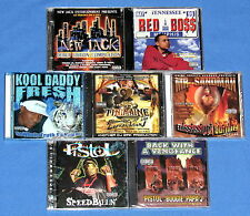 7 TENNESSEE RAP CD'S---MR. TINIMAINE+ PISTOL+ KOOL DADDY FRESH+ RED BOSS