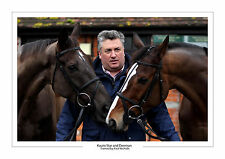 KAUTO STAR DENMAN HORSE RACING A4 PHOTO PAUL NICHOLLS CHELTENHAM GOLD CUP