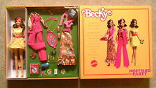 Mattel Gold Label #N5012 - Most Mod Party - Barbie Becky Doll - Mint in Box