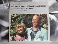 KARIN KROG / BENGT HALLBERG - TWO OF A KIND LP UNPLAYED 1982 FOUR LEAF RECORDS