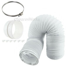 4M Long Vent Hose Extension Pipe & Connectors for CANDY Tumble Dryer