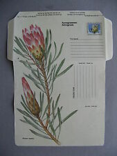 RSA SOUTH AFRICA, prestamped aerogramme, mint,flower plant