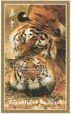 CHINESE HOROSCOPE YEAR OF THE TIGER REPUBLIQUE DU NIGER 1998 MNH STAMP SHEETLET