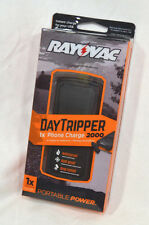 Rayovac DayTripper 1X Phone Charger 2000 Portable Power PS80 NEW