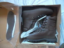 BRITISH ALTBERG ALT-BERG original MTP PCS BROWN DEFENDER COMBAT HI BOOTS 8 m NEW