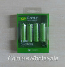 4 x GP Recyko 1300mAh AA Batteries For Gigaset C620 C620A C620H,Cordless Phones