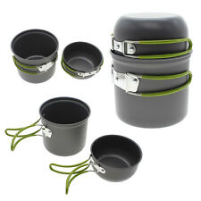 High Quality Outdoor Cooking Picnic Bowl Pot Pan Outdoor BBQ Camping Equipment