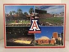 University of Arizona at Tucson 1000 Piece Jigsaw Puzzle 20x27 and Poster 10x14