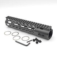 9 inch Ultralight KeyMod Free Float NSR Handguard Rail Mount steel Barrel nut