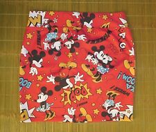 Disney Mini Skirt Mickey and Minnie Having Fun all-over Red Junior MEDIUM