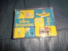 THE BEATLES YELLOW SUBMARINE MAGNET SET OF 9 INDIVIDUAL FRIDGE MAGNETS IN BOX