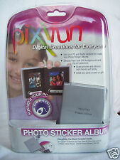 Pixifun Digital Photo Sticker Album New Sealed in Package Digital Creations