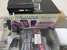 Excalibur AL1860EDPB 2 Way LCD Keyless Entry Alarm Remote Start  Blade Ready
