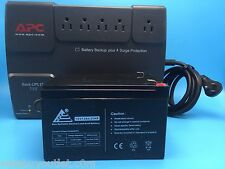 APC Back-UPS ES 750 with NEW Full Size 12v 12ah BATTERY and USB Monitoring Cable