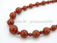 Handmade Natural Gemstone Beads 4~12mm Graduated Adjustable Necklace Healing