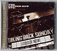 TAKING BACK SUNDAY - LOUDER NOW: PART TWO (CD+DVD) come nuovo-excellent