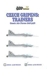 JBr Decals 1/72 JAS 39D GRIPEN Czech Air Force Jet Trainer