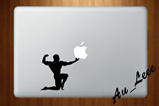 Macbook Air Pro Vinyl Skin Sticker Decal Gym Body Sport Fitness Exercise M569