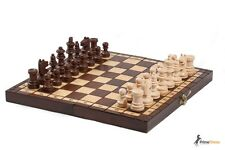 TOURNAMENT WOODEN CHESS SET 30CM !! GREAT TRAVEL SET !!!