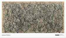 One, Number 31 by Jackson Pollock - Contemporary Abstract Art Print Poster 39x68