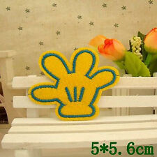 Embroidered Motif Cloth Applique Iron On Patch Sew Clothing Decorations Finger