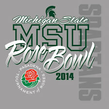 MSU SPARTANS  2014 ROSE BOWL METAL FRIDGE MAGNET #0041