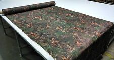 """TRUE TIMBER MIXED PINE POLISHED POLY POPLIN HUNTING CAMO FABRIC 60""""W CAMOUFLAGE"""