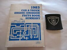 1983 FORD CAR & TRUCK ENGINE / EMISSIONS FACTS BOOK SUMMARY MANUAL