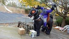 7' Gemmy Halloween Headless Horseman w/Sword Lighted Airblown/Inflatable Decor