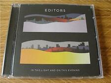 CD Album: Editors : In This Light And On This Evening
