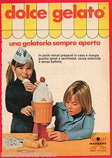 Pubblicità Advertising HARBERT 1976 Dolce Gelato