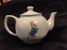 Pretty Little Peter Rabbit Miniature Teapot