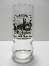 Paulaner Munchen 0.25L German Beer Glass Munich Germany Brewery Scene