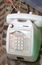 TABLETOP PAY PHONE COIN OPERATED - UNTESTED SO SOLD AS PARTS