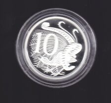 2009 SILVER Proof 10 Cent Coin Australia Ex Fine Silver Set