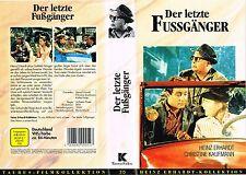 (VHS) Der letzte Fußgänger - Heinz Erhardt, Christine Kaufmann, Michael Lenz