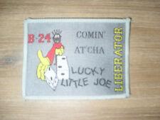 B-24 Liberator Lucky Little Joe patch comin' at'cha