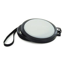 Mennon 72mm White Balance Lens Cap Custom WB Filter for SLR DSLR Cameras
