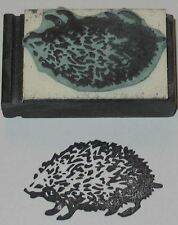 Hedgehog Rubber Stamp by Amazing Arts cute!