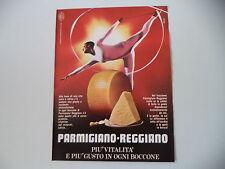 advertising Pubblicità 1980 PARMIGIANO REGGIANO