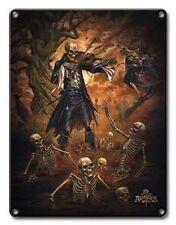Dance Macabre Gothic Metal Sign - Alchemy Gothic - Alchemy 1977