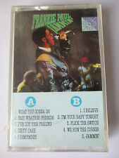 "FRANKIE PAUL - ""JAMMIN'"" - REGGAE CASSETTE TAPE VP RECORDS - NEW"