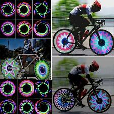 Spoke Light Colorful 36 LED Flash Bicycle Motorcycle Car Tyre Tire Wheel Valve