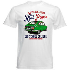 VINTAGE FRENCH CAR RENAULT 16 - NEW COTTON T-SHIRT