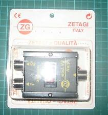 ZETAGI  mod-v2 2-Way Antenna Switch Coax Radio Signal so239