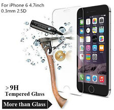 1x Premium Real Front Tempered Glass Film Screen Protector For iPhone 6 6S