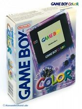 GameBoy Color - Clear/Atomic Purple (mit OVP) NEUWERTIG