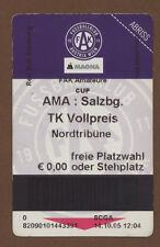 Orig.Ticket    Österreich Pokal  05/06    AUSTRIA WIEN - RED BULL SALZBURG  !!