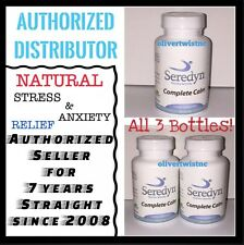 SEREDYN RELIEVES STRESS, PANIC ATTACKS AND ANXIETY 3 BOTTLES
